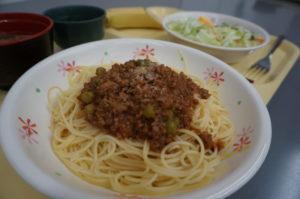 ミートソース・スパゲッティ